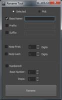 Rename Tool for Maya 2.2.0 (maya script)