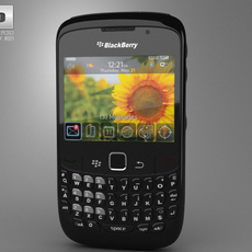 BlackBerry Curve 8520 3D Model