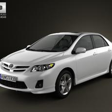 Toyota Corolla 2012 3D Model
