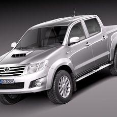 Toyota Hilux 2012 doublecab 3D Model