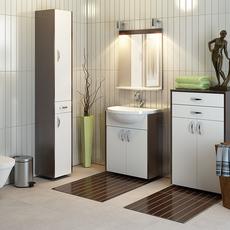 Elegant Bathroom Furnitures Set from factory Oristo Full Studio Scene 3D Model