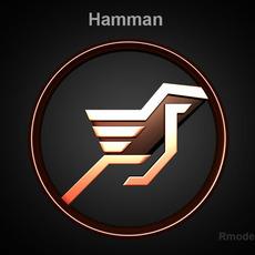 Hamman 3d Logo  3D Model