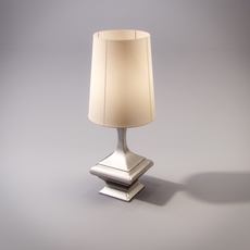 Global Views GLV 174229 Hammered Table lamp 3D Model