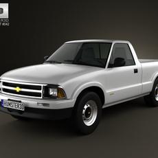 Chevrolet S10 SingleCab StandartBed 1994 3D Model