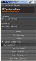 MT Parenting Facilitator for Maya 1.0.0 (maya script)
