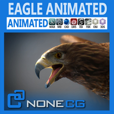 Animated Golden Eagle