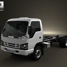 Isuzu NPR Chassis 2011 3D Model