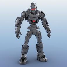 Robot 01 3D Model