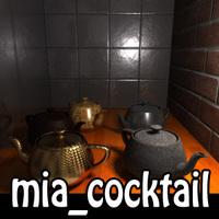 Presets for mia material for Maya 1.3.0 (maya script)