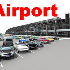 Airport 04 3D Model