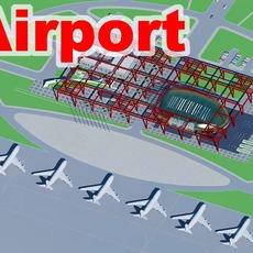 airport 05 3D Model
