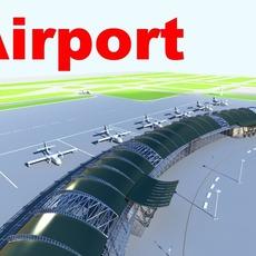 airport 06 3D Model