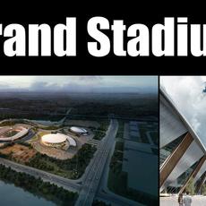 Grand Stadium 009 3D Model