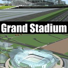 Grand Stadium 014 3D Model