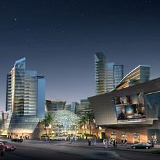 Mall -night 3D Model