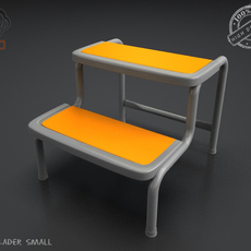 Step Lader Small 3D Model