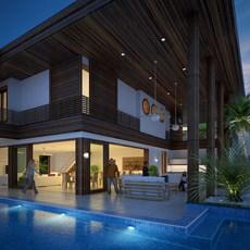 House 025 3D Model