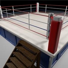 Box Arena 3D Model