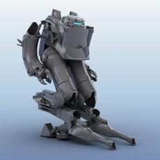 Robot 03  3D Model