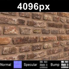 Brick 02 Old Wall - High Res Set