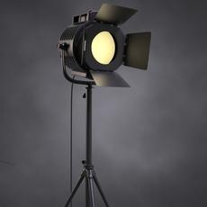 Vintage Spotlight 3D Model
