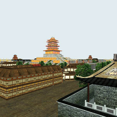 The China Ancient city 3D Model