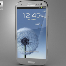 Samsung Galaxy S III 3D Model