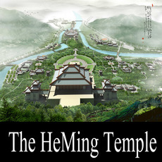 The HeMing Temple - A Taoism temple 3D Model