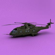 EH101 Merlin HC3 3D Model