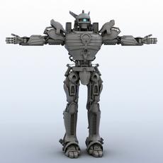 Robot 06 3D Model