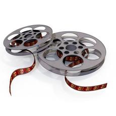 Film Reels 3D Model
