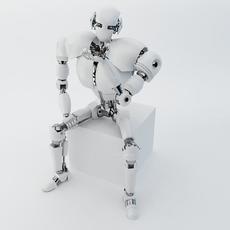 Robot Z300 (improved version) 3D Model