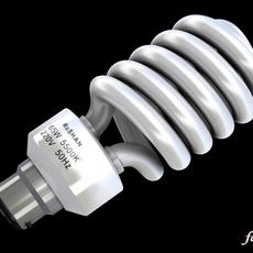 Energy saving bulb 2 3D Model