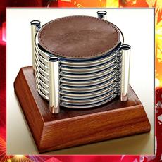Chivas Regal Coasters - High Detailed. 3D Model