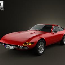 Ferrari 365 Daytona GTB/4 Daytona 1968-1973 3D Model