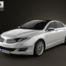 Lincoln MKZ 2013 3D Model