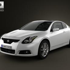 Nissan Altima coupe 2012 3D Model