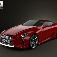 Lexus LF-LC 2012 3D Model