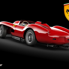 Ferrari 250 STD MAT 3D Model