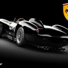 Ferrari 250 mod 2 STD MAT 3D Model