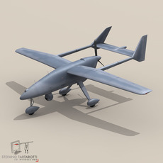 Falco UAV 3D Model