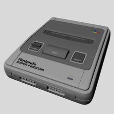 Super Famicom 3D Model
