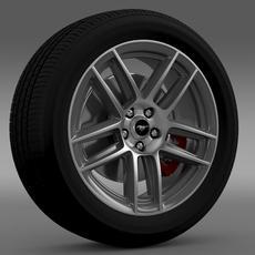 Ford Mustang Boss 302 2013 wheel 3D Model