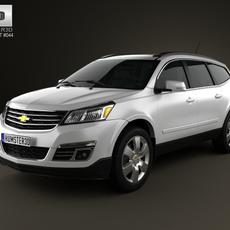 Chevrolet Traverse 2013 3D Model