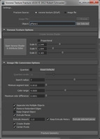 Voronoi Texture Fracture for Maya 0.0.7 (maya script)