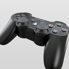 PS3 Controller 3D Model