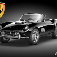Ferrari 250 California 3D Model