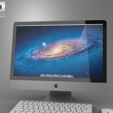 Apple iMac 21.5 2012 3D Model