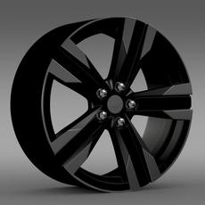 Chevrolet Camaro SEMA 2011 rim 3D Model