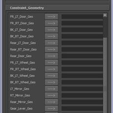 Vehicle Rig Generator for Maya 0.0.3 (maya script)